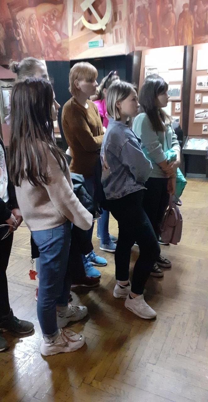 Учащиеся колледжа посетили Бобруйский краеведческий музей