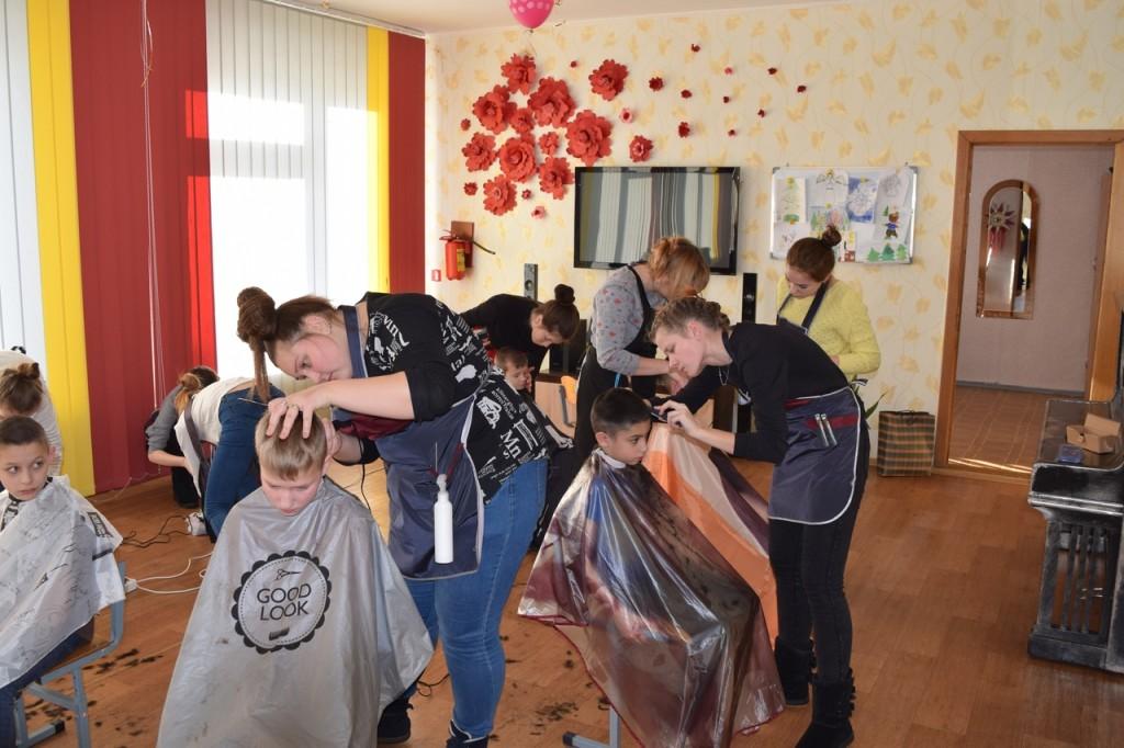 Волонтерская акция «Наши дети»